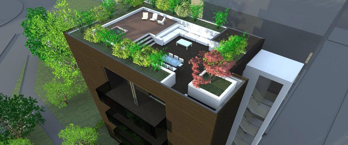 Planimetrie progetto appartamenti di lusso a mestre for Planimetrie di mini palazzine